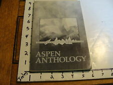 vintage poetry mag: ASPEN ANTHOLOGY, no. 6, Fall 1978, cover by Dick Carter