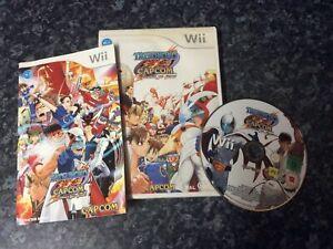 Tatsunoko Vs Capcom Ultimate All Stars Wii Game Nintendo Wii