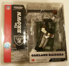 McFarlane Sportspicks NFL 8 TIM BROWN action figure-Raiders-Notre Dame-NIB