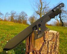 2 unidades Massive gigantes machete 59 cm negro XXL Bowie coltello couteau m027