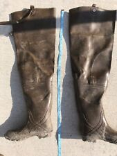 Rubber Thigh High Waders Northwest territory Men's Size 7