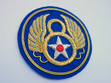 US 8TH ARMY AAF AIR FORCE  BULLION WIRE PATCH THE BEST ON THE INTERNET