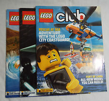 Lego Club Magazine  3 Issues March/April- May/June- Sept/Oct 2013