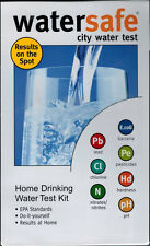 Watersafe City Water Test Kit for 8 Drinking Water Parameters & Free US Shipping