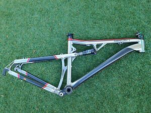 SILVERBACK MERCURY 1 Full Suspension Frame w/ Fox Float RP2 Shock Small