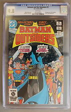 Batman and Outsiders #1 first Full KATANA CW TV Arrow Suicide Squad CGC NMMT 9.8
