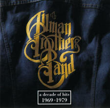ALLMAN BROTHERS BAND A Decade Of Hits:1969-1979 (CD 1991) USA Import EXC
