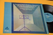 DONATONI MADERNA...LP MUSICA CAMERISTICA CONTEMPORANEA ORIG ITALY 1978 NM LAMINA