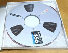 "⭐️ BOXED AMPEX 456 GRAND MASTER 10.5"" REEL NAB USED STUDIO PROFESSIONAL QUALITY"