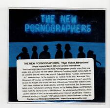 (IC927) The New Pornographers, High Ticket Attractions - 2017 DJ CD