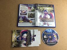 Disgaea Hour of Darkness-Sony Playstation 2 (PS2) Testé/Travail UK PAL