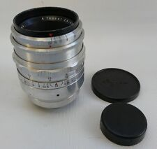 Vtg Alloy Carl Zeiss Jena Tessar 2.8 / 80 T with Exakta Exacta Mount Ser 3514827