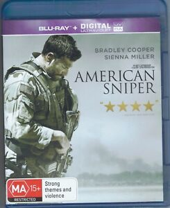American Sniper Blu-Ray Movie FREE POSTAGE!