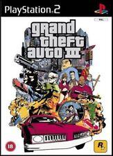 Grand Theft Auto 3 III GTA - PS2 Playstation 2