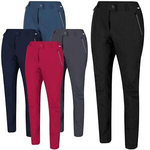 Regatta Womens Stretch Outdoor Walking Hiking Trousers Pants Zip Water Repellent