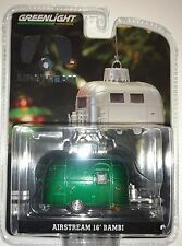 Greenlight 29881 Airstream 16' Bambi 1:64 Scale Ornament RARE GREEN CHASE