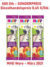 500 X HIPP Frucht Kinder Bio Riegel Früchte Restposten MHD Sonderposten Baby