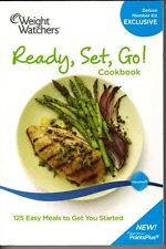 Weight Watchers Ready, Set, Go ! New PointsPlus 2010 Deluxe Member Kit cookbook