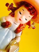 Josef Originals Thursday Week Day Girl Figurine Vintage Estate Rare Sale