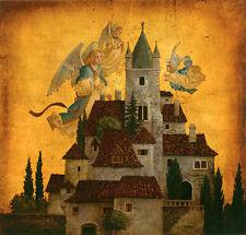 James Christensen -  Angels of my Village   - Limited Edition  Print  650