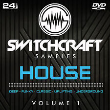 HOUSE VOL 1 - 24BIT WAV STUDIO / MUSIC PRODUCTION SAMPLES - DVD