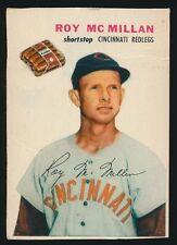 1954 Wilson Franks -ROY McMILLAN (Cincinnati Reds) *Tough Regional Hot Dog Issue