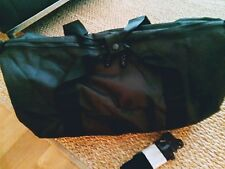 Medium size light weight black Travel Sports Weekend  Holdall Bag