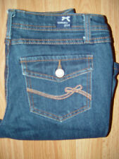 Tommy Girl Junior's Denim Blue Jeans Low Rise Boot Cut 5 med ins. 31 Very Nice