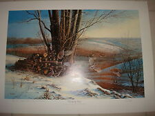 "Terry Redlin ""Breaking Away"" Ducks Unlimited Special Edition 16/40 Signed DU"