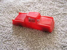 Vintage Red Toy Coupe Studebaker 1950's