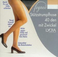 STÜTZ-Strumpfhose, formt Po+Hüfte, 40den, graphit, 50-54  *feynee*