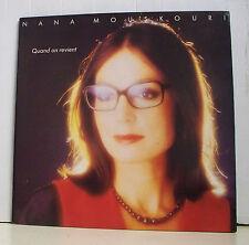 """33 tours Nana MOUSKOURI Disque Vinyl LP 12"""" QUAND ON REVIENT - PHILIPS 814609"""