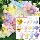 122pcs Latex Balloon Arch Kit Garland Wedding Baby Shower Birthday Party Decor