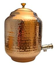 More details for copper water pot pitcher water tank 5000 ml for water drinking home uk seller