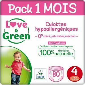 Love & Green Eco Friendly Disposable Training Pants Maxi Size 4 7-14kg
