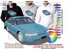 92-95 VP COMMODORE SEDAN HOODIE ILLUSTRATED CLASSIC RETRO MUSCLE SPORTS CAR