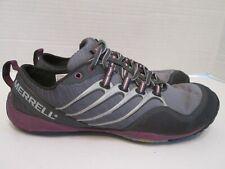 Merrell Lithe Glove Dark Shadow Trail Running Barefoot Shoes Women's Size 7