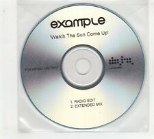 (GP967) Example, Watch The Sun Come Up - DJ CD