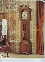 MF-094 - American Horologist & Jeweler Magazine, May 1980, Grandfather Clocks