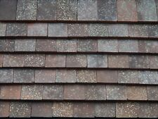 250 Real Brick 1:12th Old Village Weathered Miniature Roof Tiles for Dollshouses