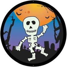 sticker decal car bike bumper halloween spooky kid horror skeleton happy