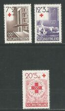 Finland 1951 Red Cross semipostal-Attractive Topical (B104-06) Mnh