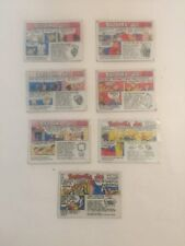 Vintage Bazooka Joe Chewing Gum Comic Cards Lot of 7 Cards