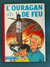 EO - LEFRANC - L'ouragan de feu de 1961 - BE - Dos toilé Lombard