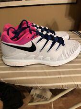 Nike Zoom Vapor X Size 10 AA8030-401 Federer NWOB Half Blue