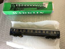 VINTAGE#Marklin H0 Gauge Railway Coach 4029 Sleeping Car Wagons#BOXED