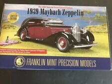 Franklin Mint 1939 Maybach Zeppelin Special Event Limited Edition 1:24 Diecast