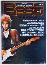 Revue BEST Aout 1980 Dylan  Jagger Led Zeppelin Stranglers