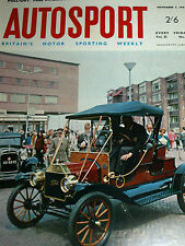 Autosport November 3rd 1967 *F1 Driver Ratings & Los Angeles Can Am*