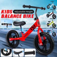 Child Gift - New 12'' Kids Balance Bike Classic No-Pedal Learn To Ride Pre Bike